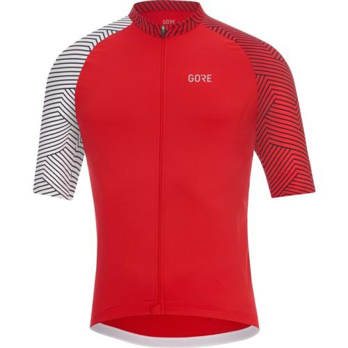 GORE C5 Optiline Jersey-red/white