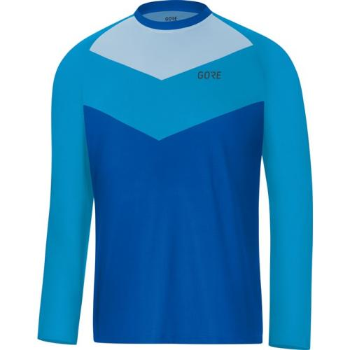 GORE C5 Trail Long Sleeve Jersey-dynamic cyan