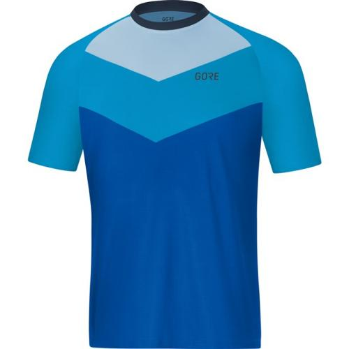 GORE C5 Trail Short Sleeve Jersey-dynamic cyan